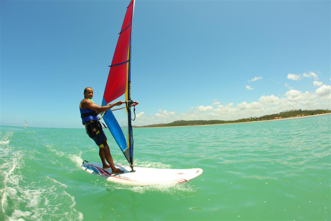 Salinas do Maragogi All Inclusive Resort: também é cenário para práticas esportivas