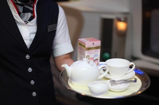 British Airways apresenta um chá especial para altitudes