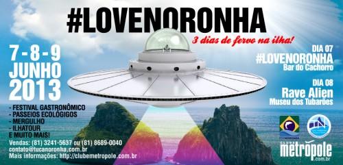 #LloveNoronha promete 3 dias de fervo no paraíso