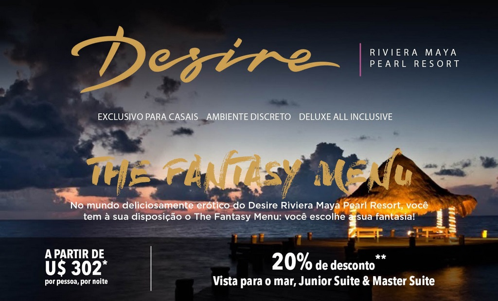 Desire Riviera Maya Pearl Resort – Exclusivo para adultos