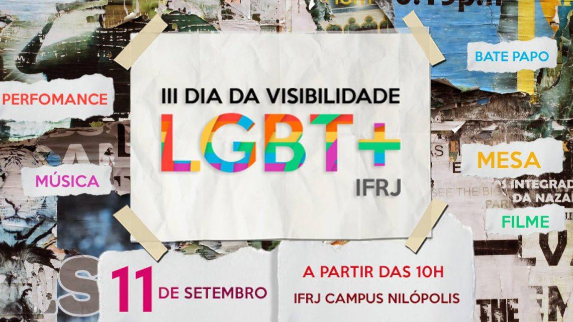 IFRJ promove o III Dia da Visibilidade LGBT+